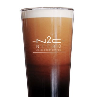 N2C Nitro Cold Brew Coffee Portable Capsules 10 Pack for Hot or Cold Water - Includes 10 N2C Capsules and 1 N2C Lid