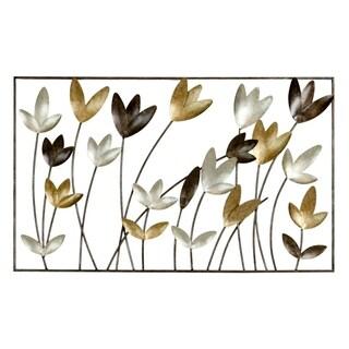 Aliza Metal Flowers Wall Decor