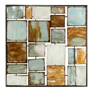 Orin Abstract Metal Wall Decor