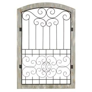 Charlotte Large Rustic Gate Wall Decor