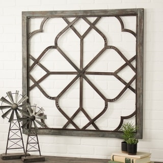 The Gray Barn Jartop Oversized Distressed Wall Decor