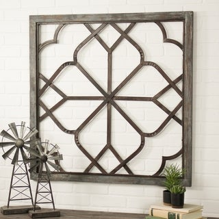 Belden Oversized Distressed Wall Decor