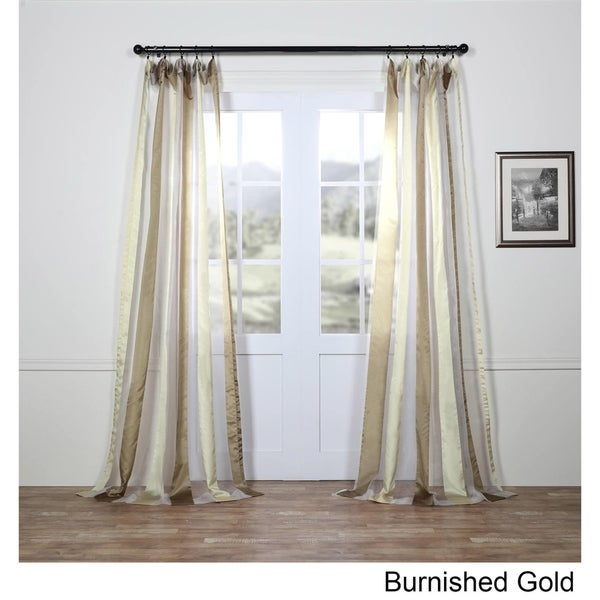 Kitchen Curtains Fabric Curtains Fabric Stripe Drapes: Shop Exclusive Fabrics Organza Vertical Stripe Sheer