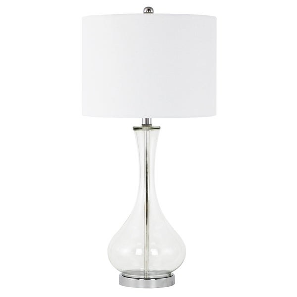 Bevin Clear Glass Table Lamp