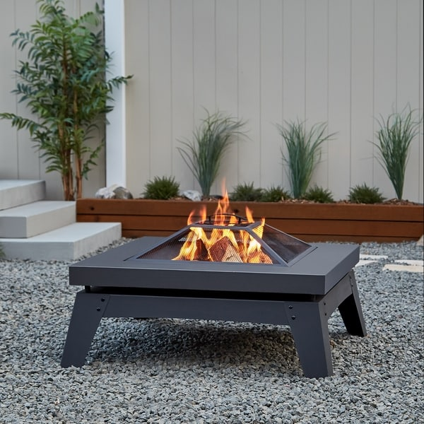 Real Flame Breton Wood Fire Pit