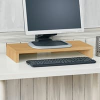 Ashton Eco Computer Monitor Riser Laptop Stand, Natural LIFETIME GUARANTEE