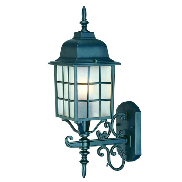 Acclaim Lighting Somerset 1 Light Matte Black Outdoor Post: Shop Acclaim Lighting Nautica Collection Wall-Mount 1