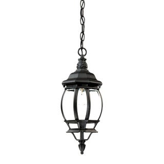 Acclaim Lighting Chateau Collection Hanging Lantern 1-Light Outdoor Matte Black Light Fixture