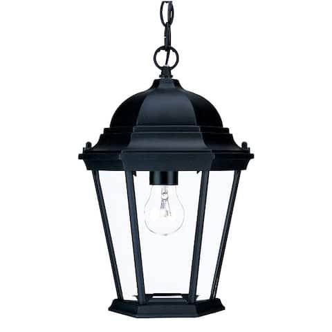 Acclaim Lighting Richmond Collection Hanging Lantern 1-Light Outdoor Matte Black Light Fixture