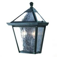 Acclaim Lighting Bay Street Collection Wall-Mount 2-Light Outdoor Matte Black Light Fixture