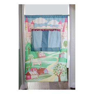 Asweets Doorway Castle Canvas Puppet Theatre For Kids