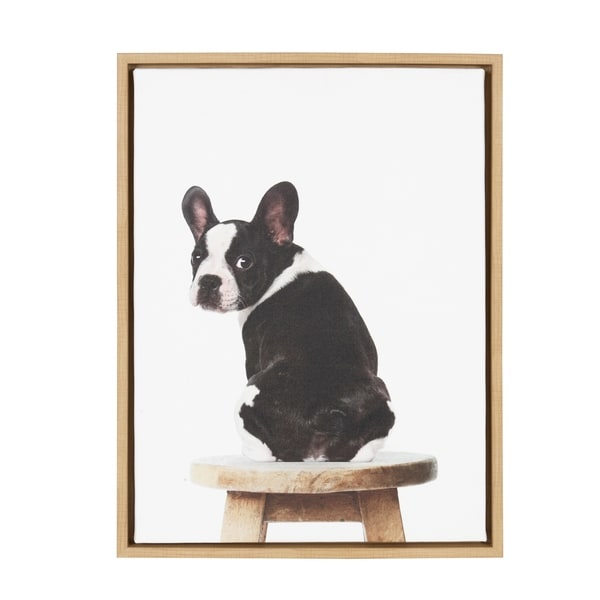 Shop Sylvie Boston Terrier Framed Canvas Art By Amy