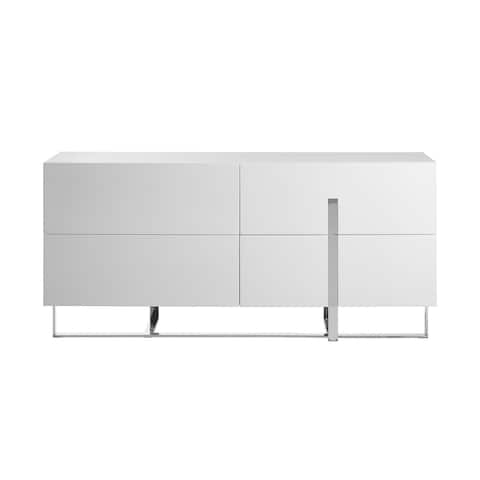 COLLINS dresser in high gloss white lacquer