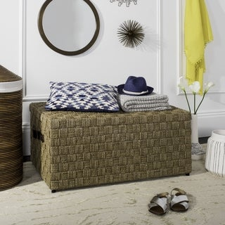 Safavieh Ashban Rattan Storage Trunk