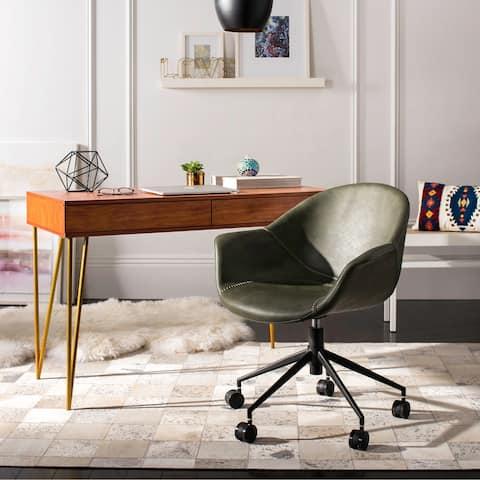 "Safavieh Ember Office Chair - 27.2"" x 26.4"" x 31.5"""