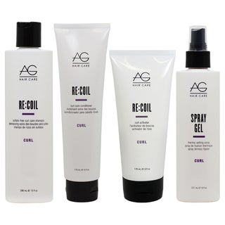 AG Hair Curl Care Re-Coil Curl Care 4-piece Collection