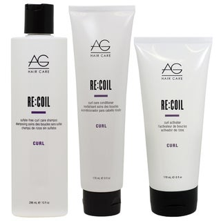 AG Hair Recoil Curl Care 3-piece Set