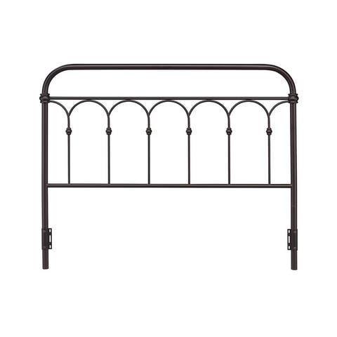 Rize Arch Style Open Panel Metal Headboard