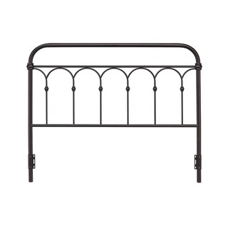 Rize Arch Style Open Panel Metal Headboard