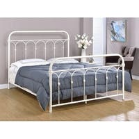 Rize Hopewell Open Panel Metal Platform Bed