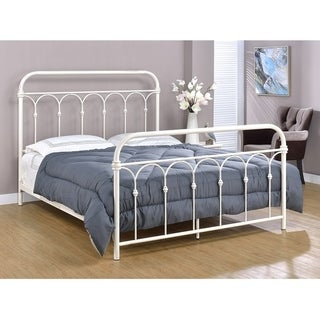 Rize Open Panel Metal Platform Bed With Headboard And Foot Board