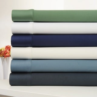 OrganicPro 6-piece 400 Thread Count Certified Organic Cotton Bed Sheet Set