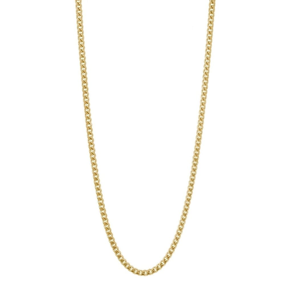 100 pcs 1.5mm 17inch Plated gold ball necklace chain with Lobster Clasp Sale-