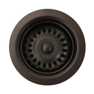 """Link to Whitehaus Collection 3 1/2"""" basket strainer for deep fireclay applications Similar Items in Kitchen"""