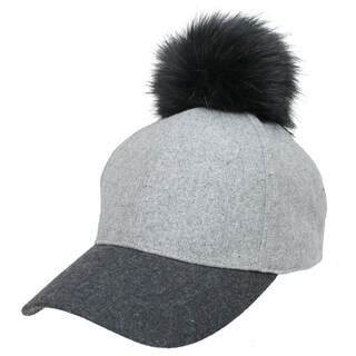 FITS Flannel Ball Cap with Pom