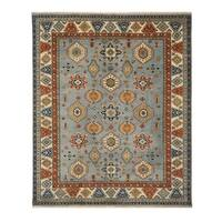 EORC Searpi Wool Handmade Traditional Geometric Area Rug - 10' x 14'