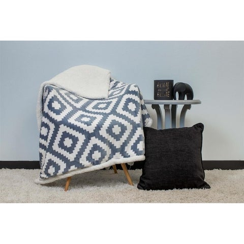 Duck River Christie Geometric Sherpa Throw
