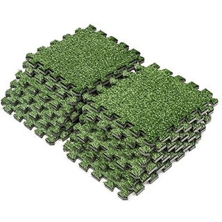 Interlocking Floor Mat - Grass