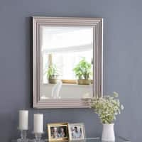 "Isabella Chrome 30"" Wall Mirror"