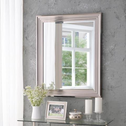 "Isabella Chrome 36"" Wall Mirror"