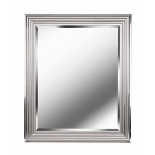 "Design Craft Isabella Chrome 36"" Wall Mirror"