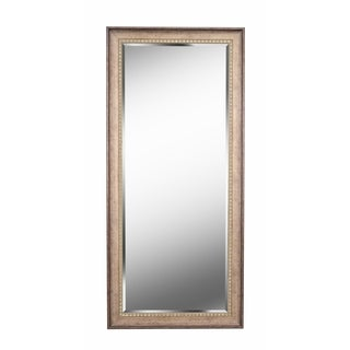 "Somme Antique Gold 66"" Floor Leaner Mirror"