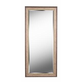 "Somme Antique Gold 66"" Floor Leaner Mirror"
