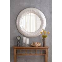 Capiz Pearl 34 Inch Height Shell Wall Mirror