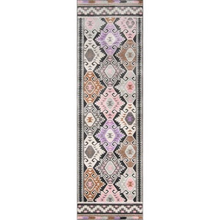 "Novogratz by Momeni Terrace Multi Geometric Rug (2'3"" x 7'6"")"