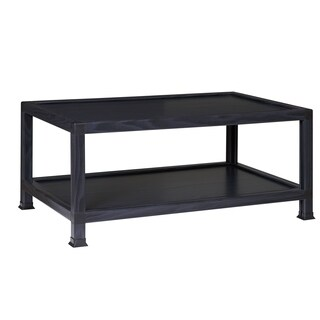 OneSpace ECO 100% Recycled Paper Coffee Table, Black
