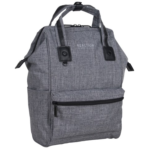 Kenneth Cole Reaction Top Load Single Compartment Wide-Mouth 15-Inch Laptop Backpack