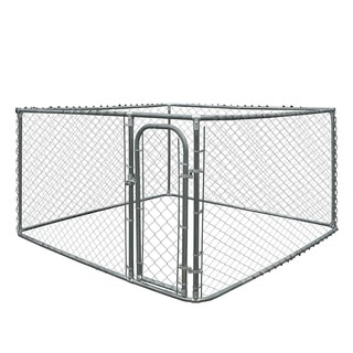 Link to ALEKO Dog Kennel Fence DIY Box Kennel Chain Link Pet System Similar Items in Dog Containment