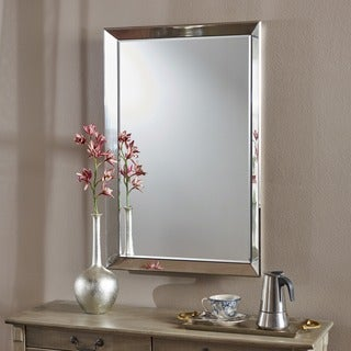 Merredin Rectangular Wall Mirror by Christopher Knight Home - Clear
