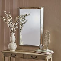 Edna Rectangular Wall Mirror by Christopher Knight Home - Clear