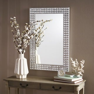 Frida Rectangular Bubble Wall Mirror by Christopher Knight Home - Clear