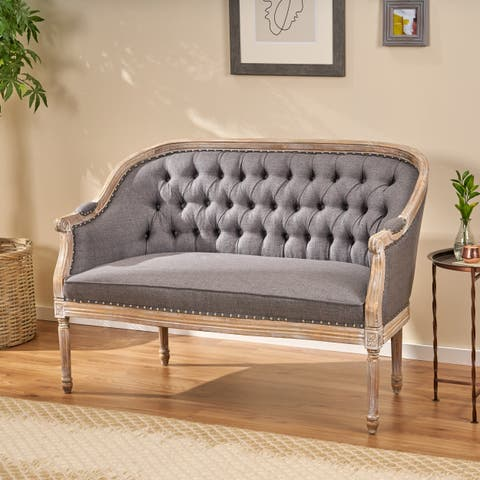Sensational Buy Tufted Back Sofas Couches Online At Overstock Our Download Free Architecture Designs Scobabritishbridgeorg