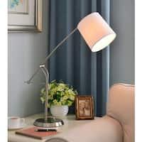Carson Carrington Tromso Adjustable Brushed Steel Table Lamp
