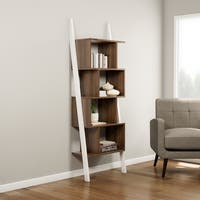 Carson Carrington Lena 5-shelf Two-tone Bookshelf Display Stand