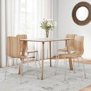 Carson Carrington Navik 5-piece Bentwood Dining Set