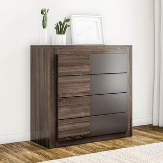 Carson Carrington Narvik Dark Oak Finish 4-drawer Chest